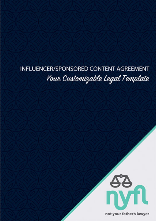 Influencer Sponsored Content Agreement