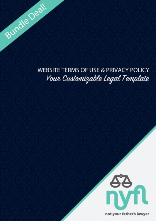 Website Bundle Terms of Use and Privacy Policy